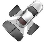 Privacy Shades zonwering Audi A3 Sportback (8P) 5-drs_