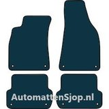 Luxe velours zwart automatten Audi A4 (8E B7)_