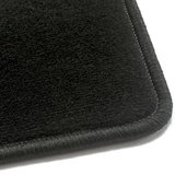 Luxe velours zwart automatten Chevrolet Spark_