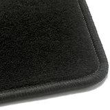 Luxe velours zwart automatten Honda Civic VII_