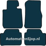 Naaldvilt antraciet automatten BMW 1- Serie (F20 / F21) facelift_