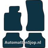 Naaldvilt zwart automatten BMW 5-Serie (E61)_