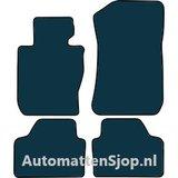 Naaldvilt zwart automatten BMW X1 X-Drive (E84) 4WD_