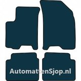 Luxe velours zwart automatten Chevrolet Aveo_