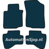 Naaldvilt zwart automatten Citroen C1 I facelift_