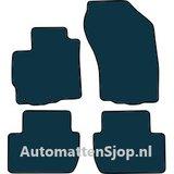 Luxe velours zwart automatten Citroen C4 Aircross_