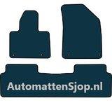 Luxe velours zwart automatten Citroen C5 III_
