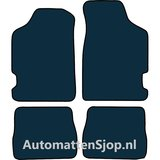 Naaldvilt zwart automatten Citroen Saxo II_