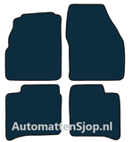 Naaldvilt zwart automatten Daihatsu Applause I_