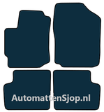 Naaldvilt zwart automatten Daihatsu Sirion M3_