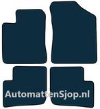 Naaldvilt zwart automatten Daihatsu Trevis_