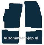 Luxe velours zwart automatten Fiat Linea_