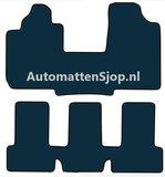 Luxe velours zwart automatten Fiat Multipla_