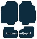Luxe velours zwart automatten Ford Escort V_