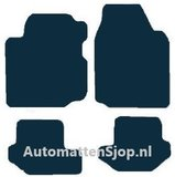 Naaldvilt zwart automatten Ford Fiesta IV_