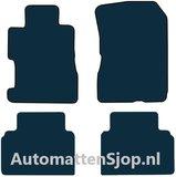 Luxe velours zwart automatten Honda Civic Hybrid_