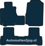 Naaldvilt zwart automatten Honda CRV III_