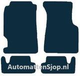 Naaldvilt zwart automatten Honda CRX III_