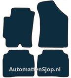 Naaldvilt zwart automatten Hyundai Elantra_