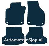 Luxe velours zwarte automatten VW Golf 6 Cabrio_