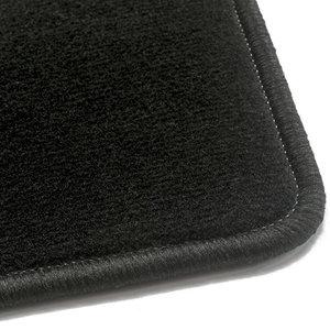Luxe velours zwart automatten Fiat Panda (141)