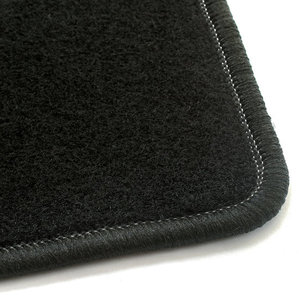 Naaldvilt zwart automatten BMW 3-Serie (E30)